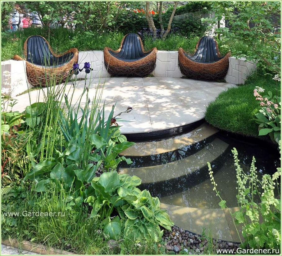 Chelsea Flower Show 2012: Новаторские сады